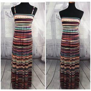 Soma Convertible Long Maxi Dress Strapless Small